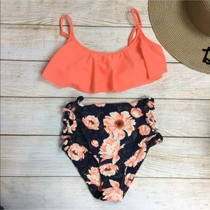 Tori Praver and Old Navy swimsuit combo NEW sz S